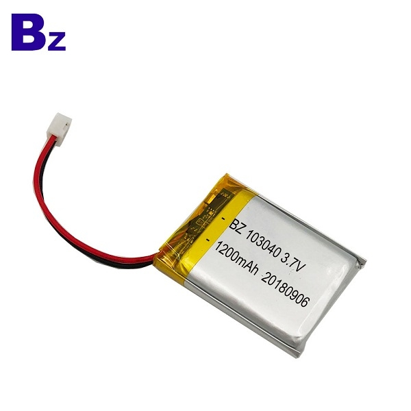 1200mAh 3.7V KC Certification Li-polymer Battery
