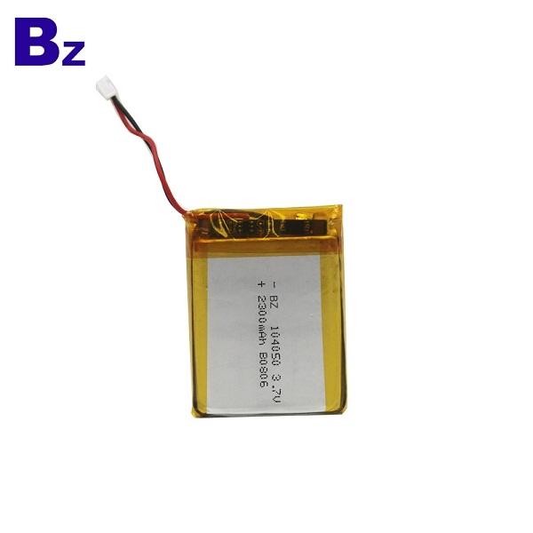 104050 2300mah 3.7V LiPo Battery
