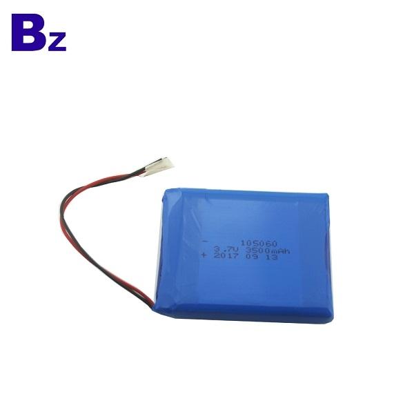 105060 3500mAh 3.7V Rechargeable Li-Polymer Battery
