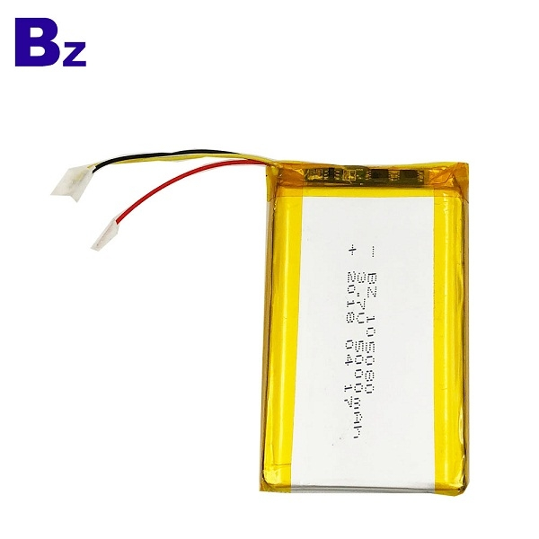 China Lithium Battery Manufacturer BZ 105080 5000mah 3.7V Rechargeable Li-polymer Battery