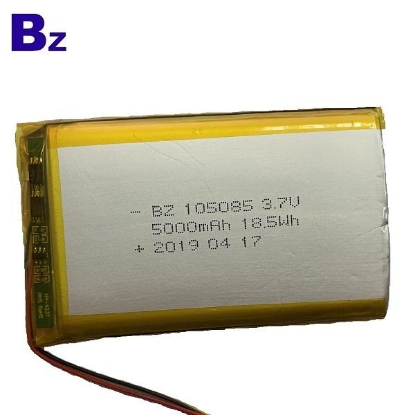 105085 5000mAh Lipo Battery with IEC 62133
