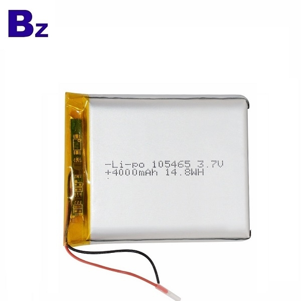 105465 3.7V 4000mAh Lithium Polymer Battery