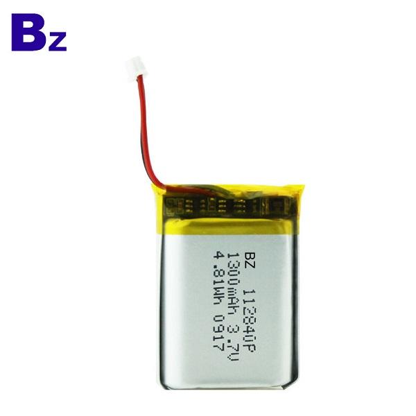 1300mah 3.7V Li-ion Polymer Battery Pack