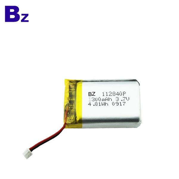 1300mah Li-ion Polymer Battery Pack