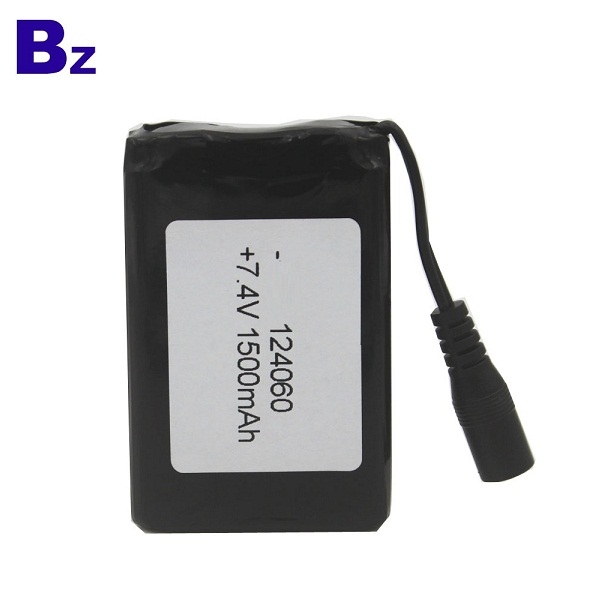 7.4V 1500mAh Polymer Li-ion Battery