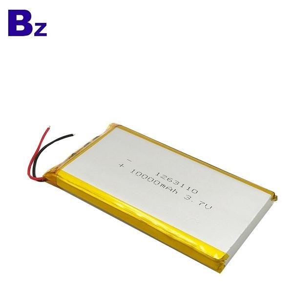 ODM 10000mAh 3.7V Lipo Battery