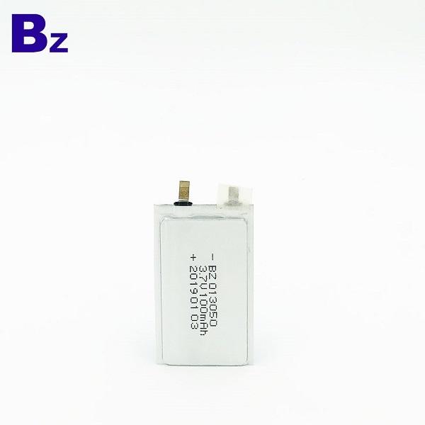 100mAH 3.7 li-ion battery