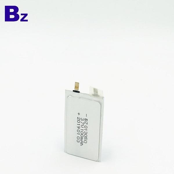013050 100mAH 3.7 li-ion battery