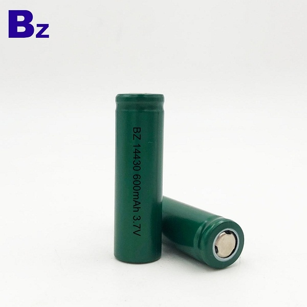 BZ 14430 600mAh 3.7V Lithium Ion Battery