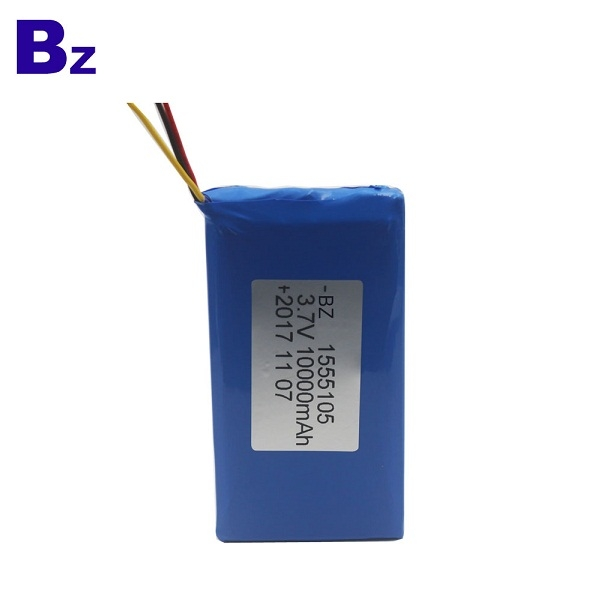 10000mAh 3.7V Rechargeable Polymer Li-ion Battery