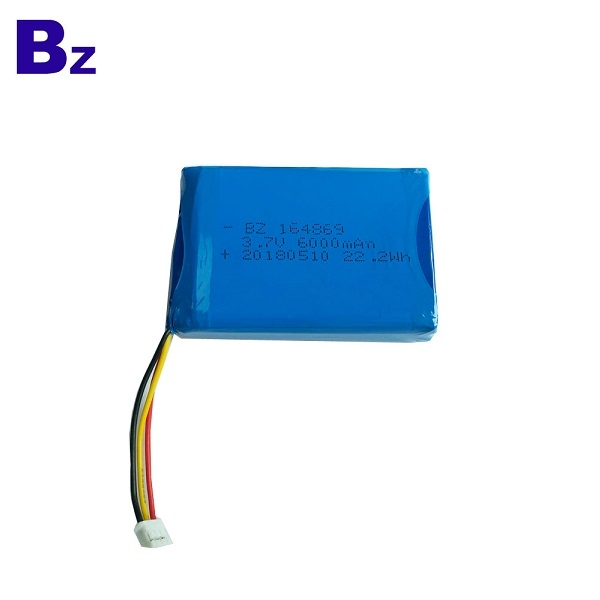164869 3.7V 6000mAh Lipo Battery Pack