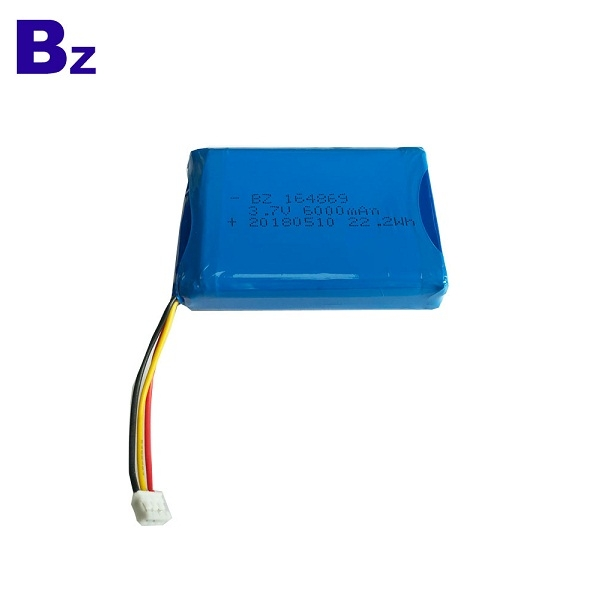 BZ 164869 3.7V 6000mAh Lipo Battery Pack