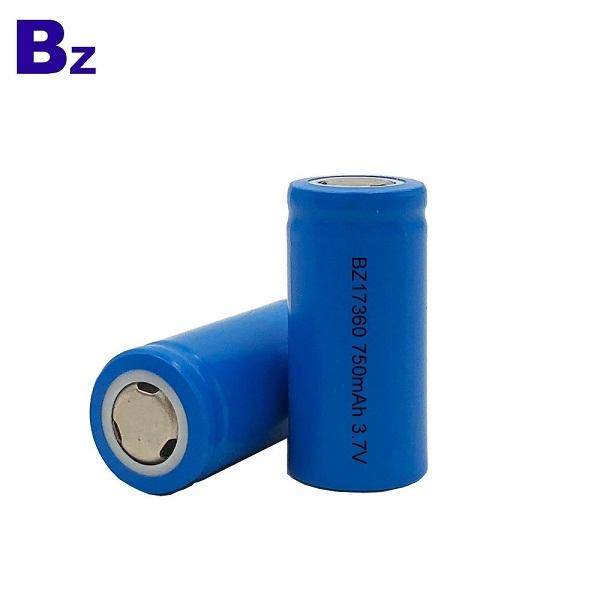 BZ 17360 750mAh 3.7V Rechargeable Li-ion Battery