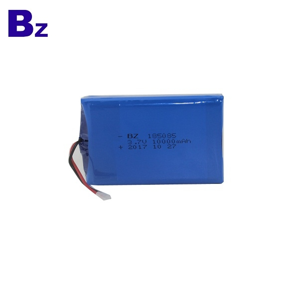 10000mAh 3.7V Rechargeable Li-Polymer Battery