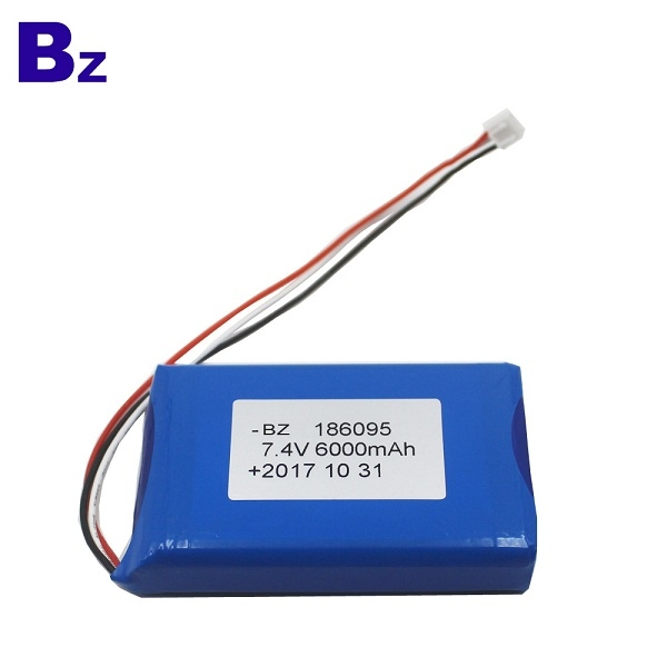 186095-2S 6000mah 7.4V Polymer Li-Ion Battery