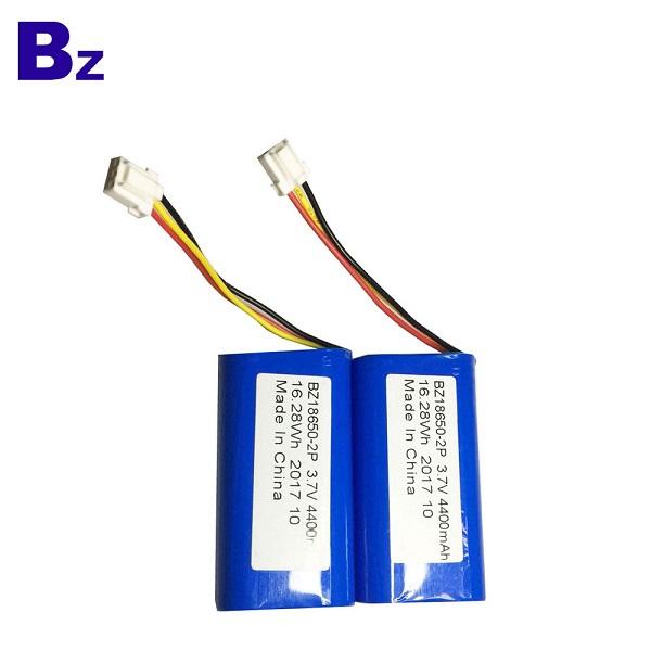 18650-2P Batteries 4400mah 3.7 Cylindrical Li-ion Battery