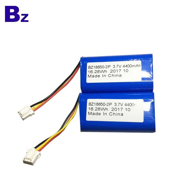 4400mah 3.7 Cylindrical Li-ion Battery