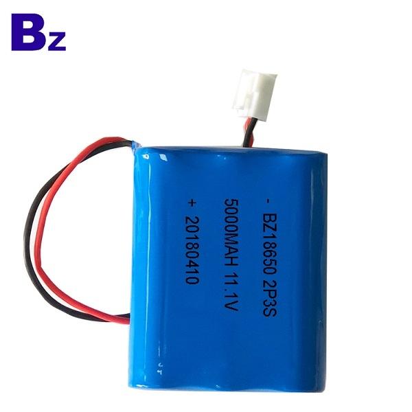 18650-2P3S 5000mAh 11.1V Li-ion Battery