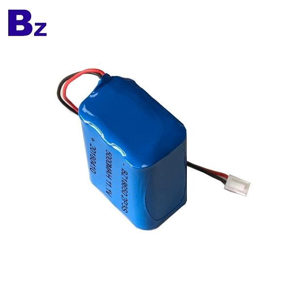 5000mAh 11.1V Li-ion Battery