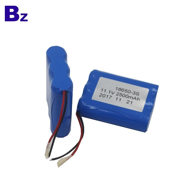 BZ 18650 3S 2500mAh 11.1V Rechargeable Li-ion Battery