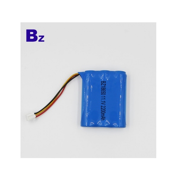18650-3S 2200mAh 11.1V Lithium Ion Battery