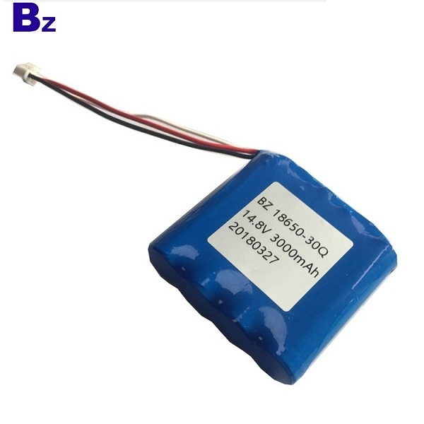18650 3000mah 15A Discharge 14.8V Li-ion Battery