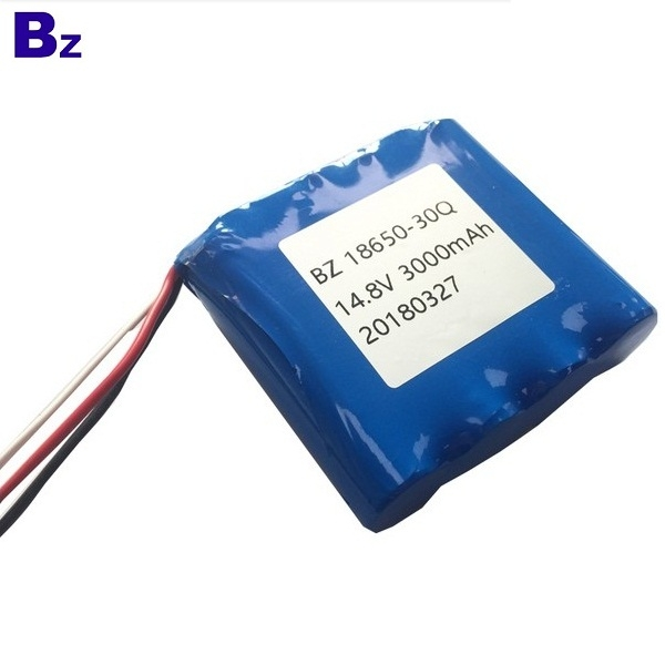 18650 3000mah 14.8V Li-ion Battery