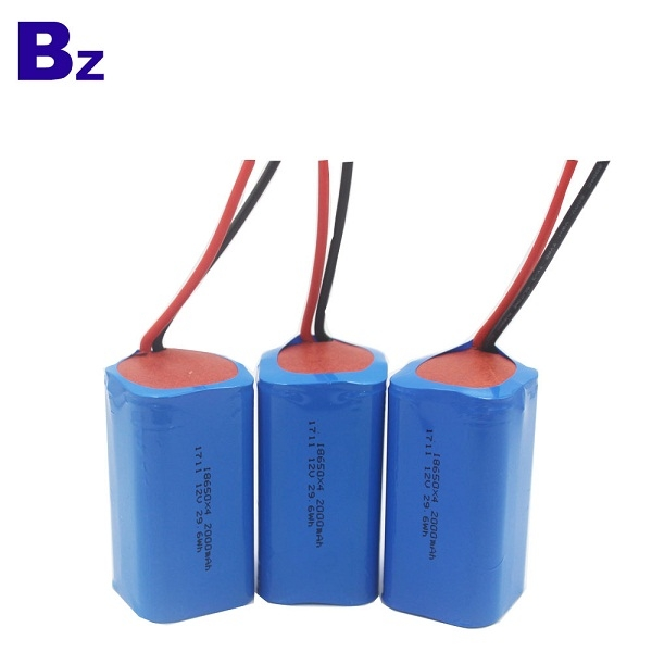 BZ 18650 4S 2000mAh 14.8V Rechargeable Li-ion Battery