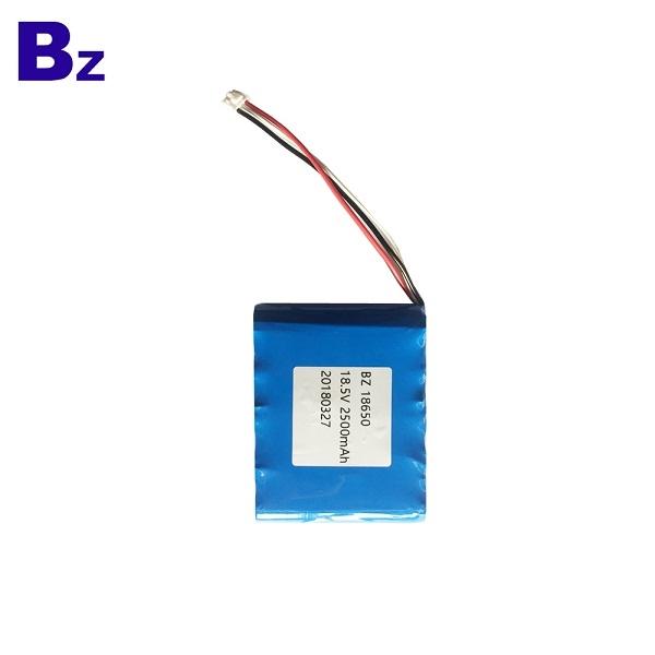 18650 2500mAh 18.5V Li-ion Battery
