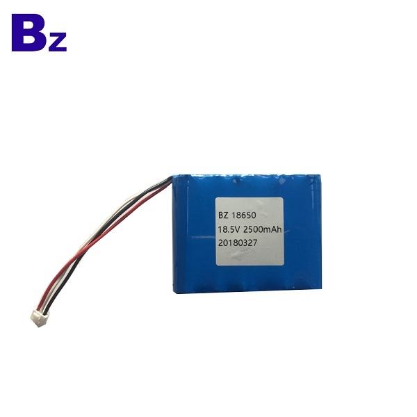18650 2500mAh 18.5V 5C Li-ion Battery