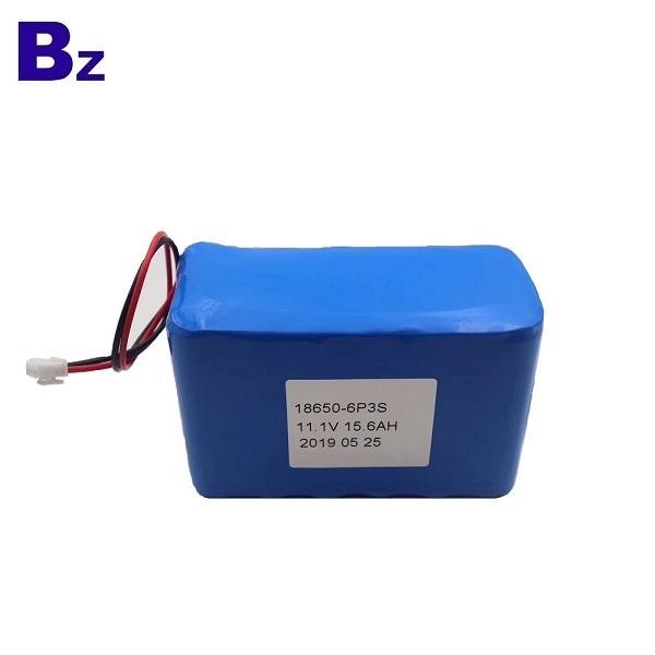 18650 Batteries 15.6Ah 11.1V For Medical Device