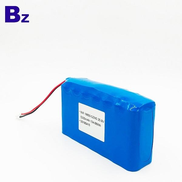 25.9V 5200mAh Li-ion Battery Packs