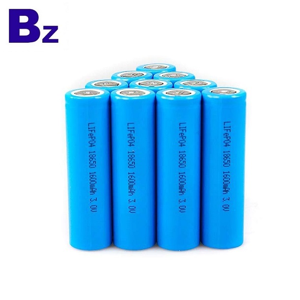 18650 1500mAh 3.2V Rechargeable LiFePO4 Battery