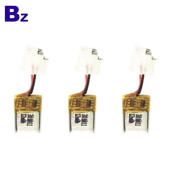 12mAh 3.7V Rechargeable LiPo Battery