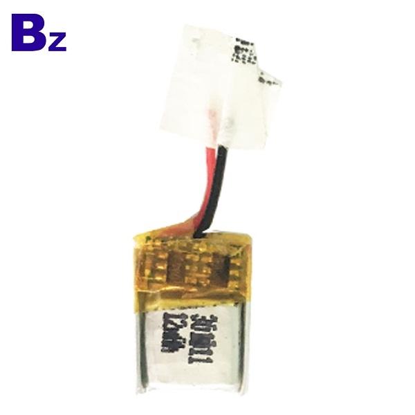 301011 12mAh 3.7V Rechargeable LiPo Battery