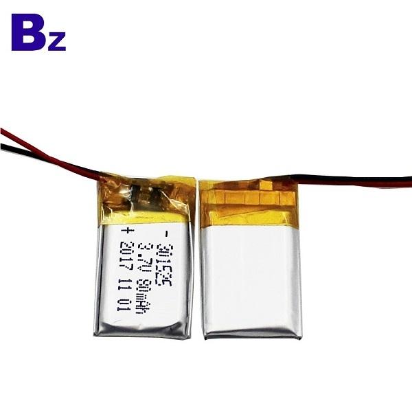 301525 80mah 3.7V Lipo Battery