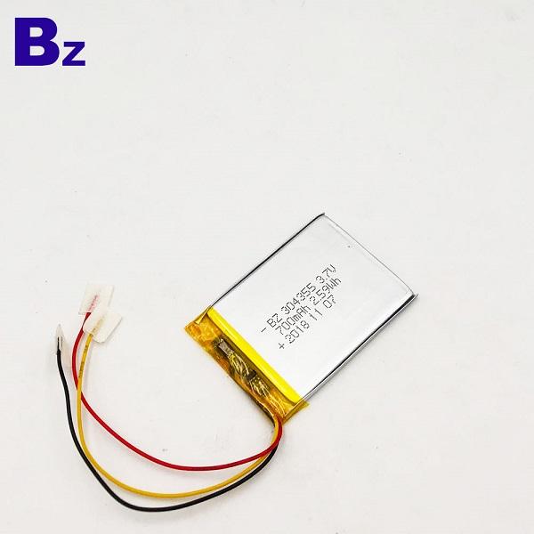 303455 700mAH 3.7v Lipo Battery
