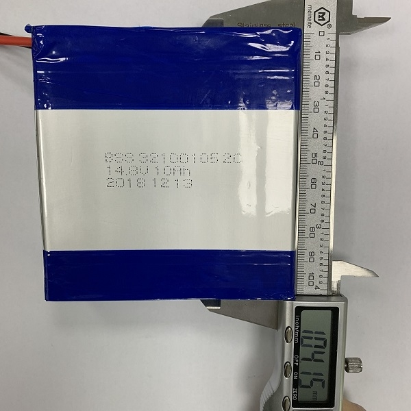32100105 Rechargeable Polymer Li-ion Battery