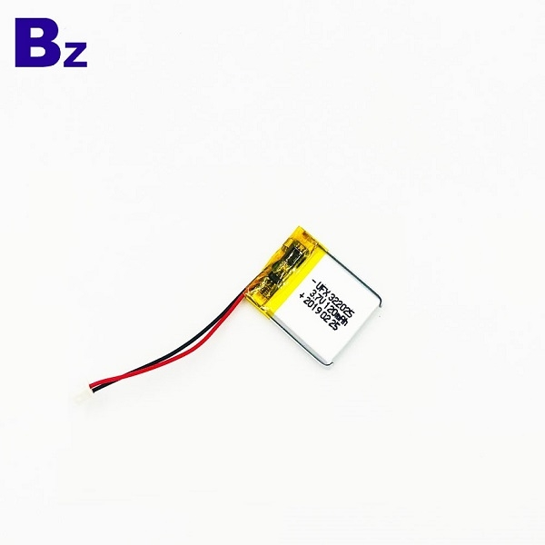 322025 120mAh 3.7V Li-ion Battery