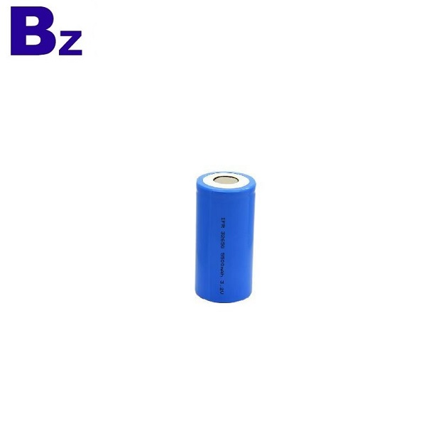 Cylindrical LiFePO4 Battery Cell 32650 5000mAh 3.2V Rechargeable