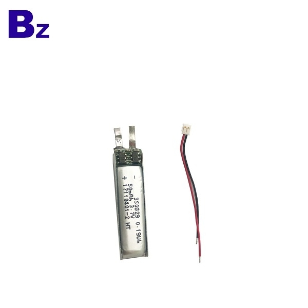 50mAh 3.7V Lipo Battery