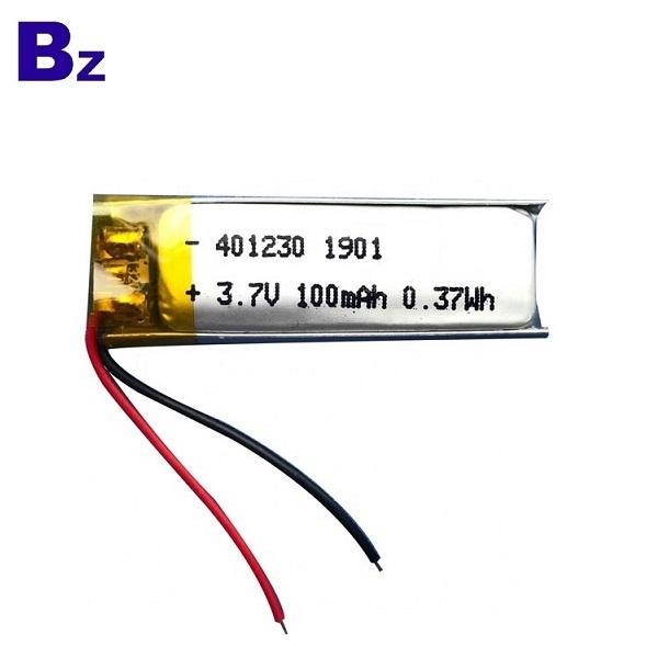 401230 100mah 3.7V China Lipo Battery