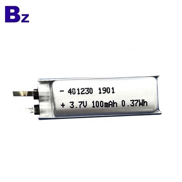 100mah Cheap Smart Card Battery