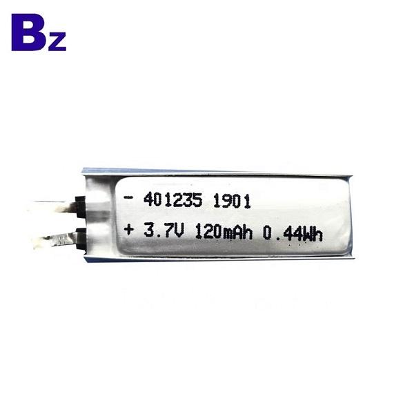 120mAh Li-polymer Battery