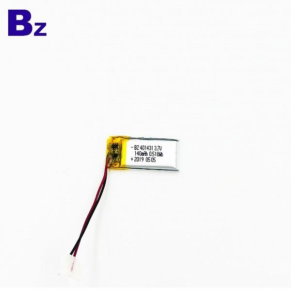 401431 140mAh 3.7V Battery