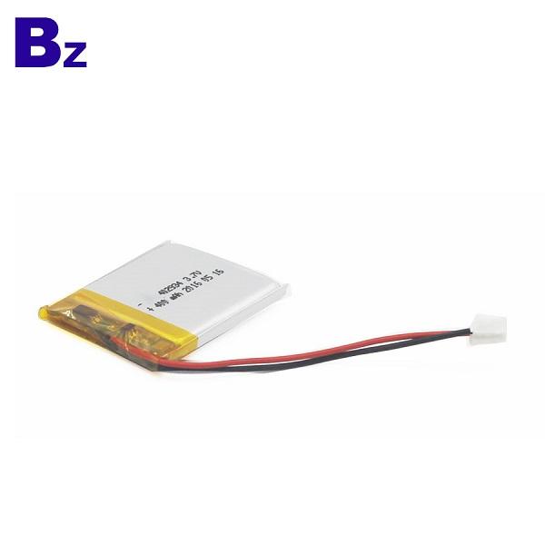 400mAh Li-Polymer Battery