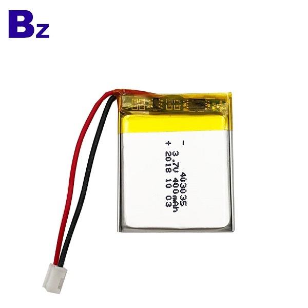 Lipo Battery for Bluetooth Speaker BZ 403035 400mAh 3.7V