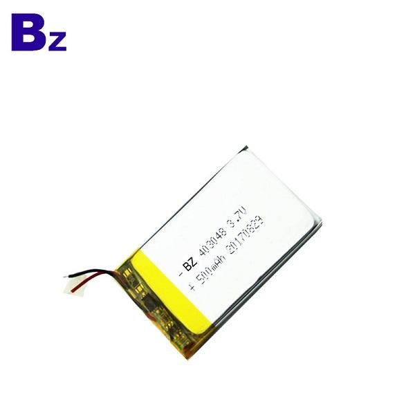 500mAh Li-Polymer Battery