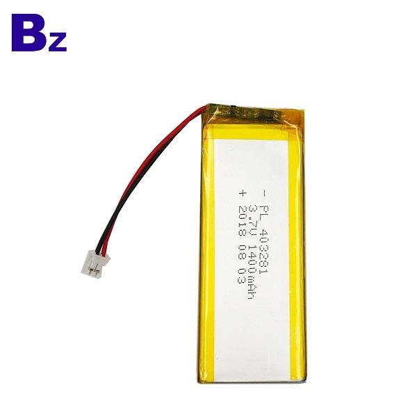 Li-Polymer Battery for Bluetooth Sound Speaker
