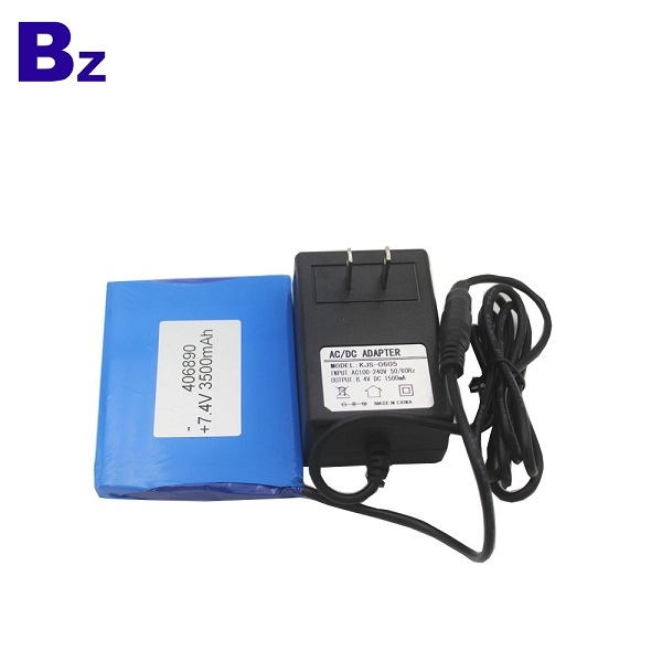 Rechargeable Lipo Battery BZ 406890 2S 7.4V 3500mAh Polymer Li-ion Battery